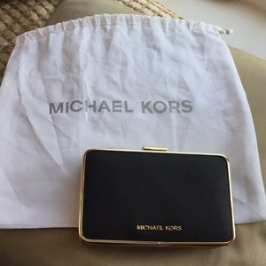 Michael Kors evening clutch with chain.